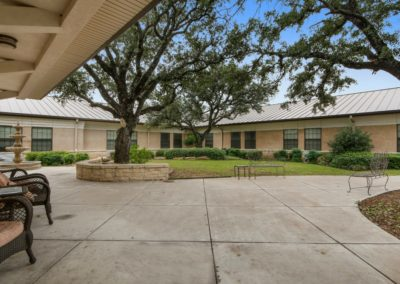 Secure Center Courtyard